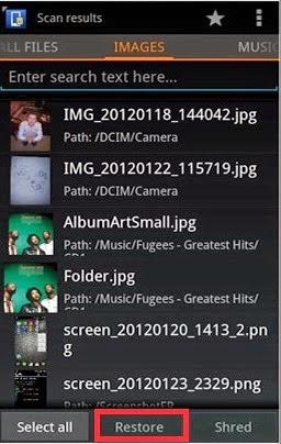 Cara Recovery Data Pada Handphone Android