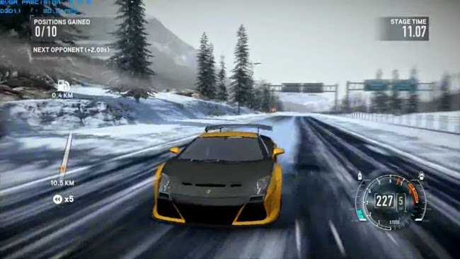 Need for Speed: The Run PC Gameplay