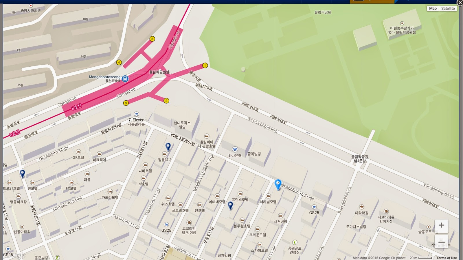 Apples of my eye Incheon International Airport to