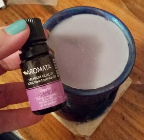Aromata Essential Lavender Oil and oil warmer