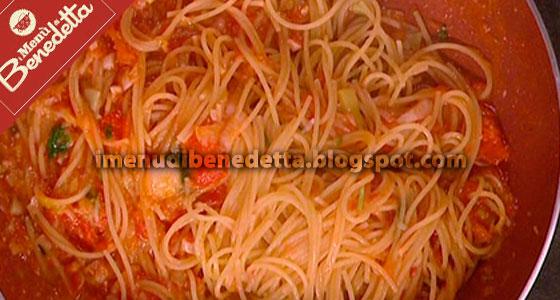 Pasta al Pomodoro Veloce di Benedetta Parodi