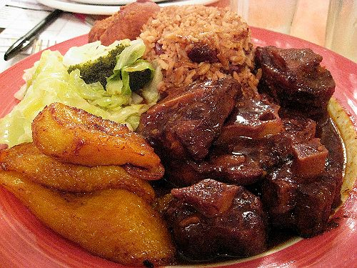 how to cook oxtails and rice