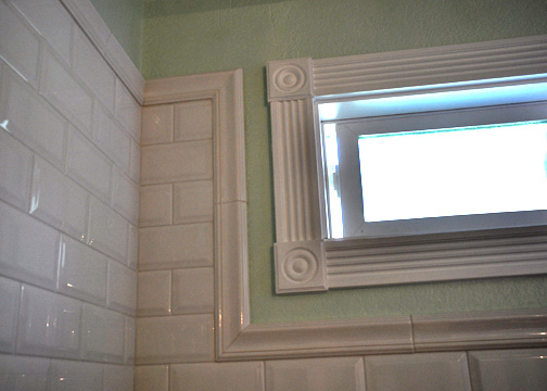 . Beveled edge or regular edge subway tile