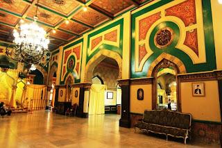 istana maimun tampak ruangan dalam