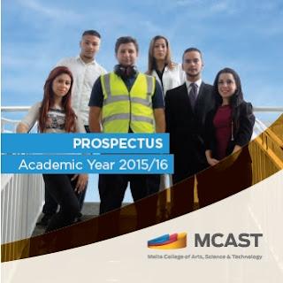 MCAST prospectus