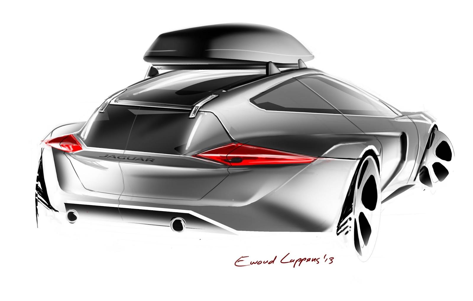 ewoud luppens wip jaguar shooting brake hatchback. Black Bedroom Furniture Sets. Home Design Ideas