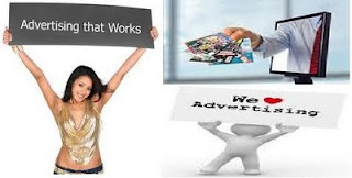 Online advertising picture