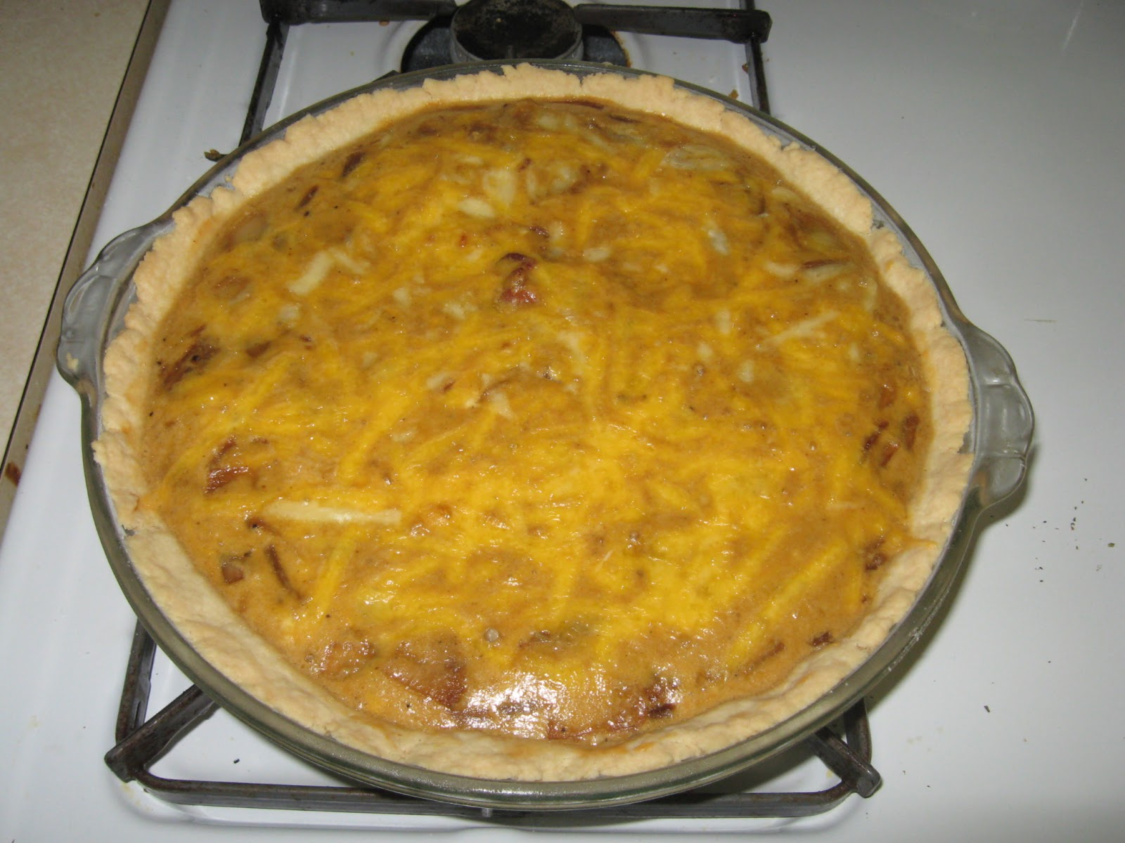 Courtney's Recipes: Guinness Braised Onion Quiche