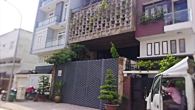 Thiết kế mẫu facade độc đáo cho nhà phố.