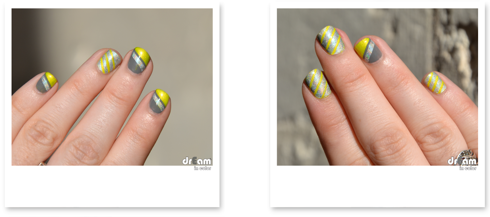 Nail art geometrique