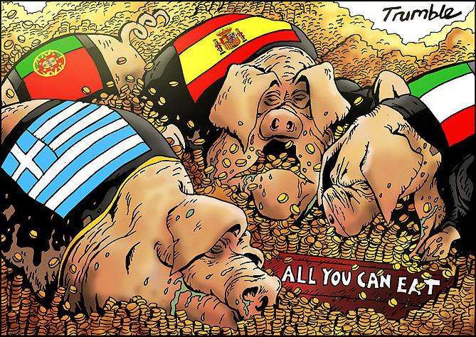 Η εικόνα είναι προσβάσιμη μόνο όταν υπάρχει σύνδεση στο διαδίκτυο. http://donquixoteargos.blogspot.gr/2012/11/pigs-portugal-italy-greece-spain.html