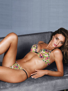 Miranda Kerr Victoria's Secret Lingerie Photoshoot December 2012