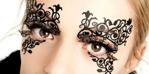 mascara maquillaje halloween