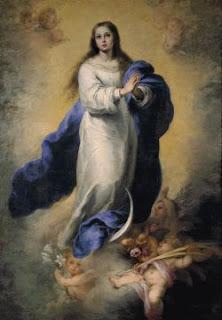Inmaculada Concepción de El Escorial. Bartolomé Esteban Murillo. 1660-1665