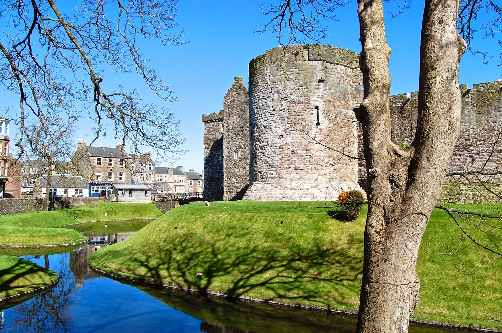 Northwest tower of Rothesay Castle