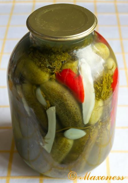 Солёные огурцы по дедушкиному рецепту. Русская кухня
