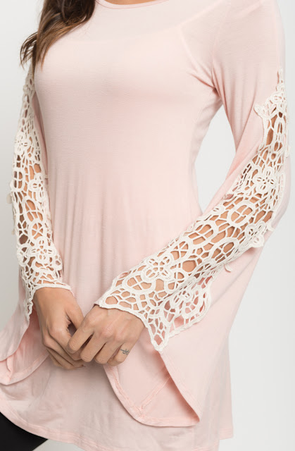 bell sleeve tunic
