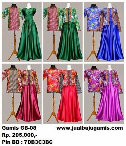 Gambar Baju Gamis Batik Terbaru