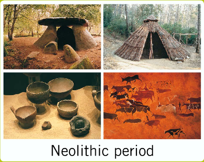 The gallery for --> Neolithic People Hunting