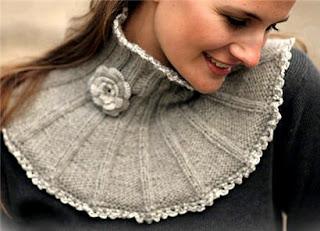 Схемы для вязания манишки.