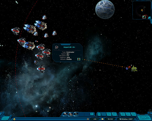 Space Rangers: A War Apart - Dominators Screenshot