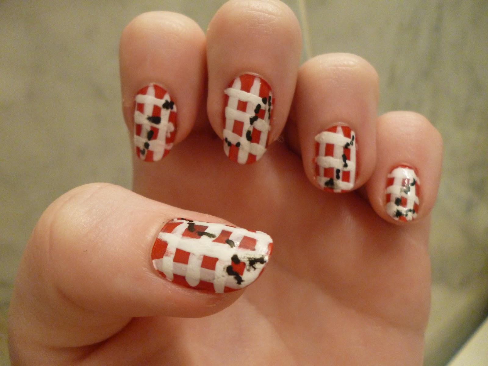 nail arts at home nail art designs. Black Bedroom Furniture Sets. Home Design Ideas