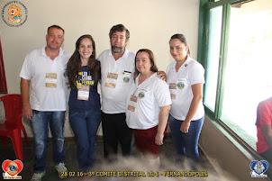 CASAL LEÃO SIMBOLO DO 3. COMITE DISTRITAL LC-6