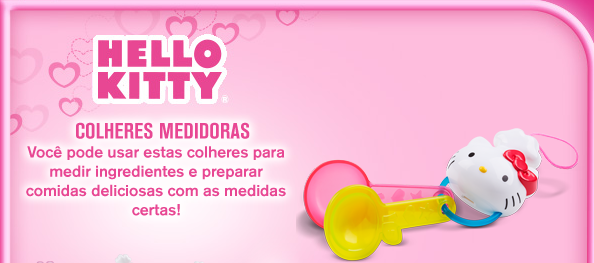 Cole o mcdonald 39 s hello kitty utens lios de cozinha r for Utensilios de cocina hello kitty
