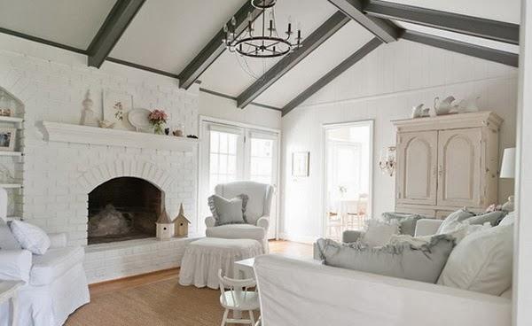 décoration salon chic en blanc décoration salon décor de salon