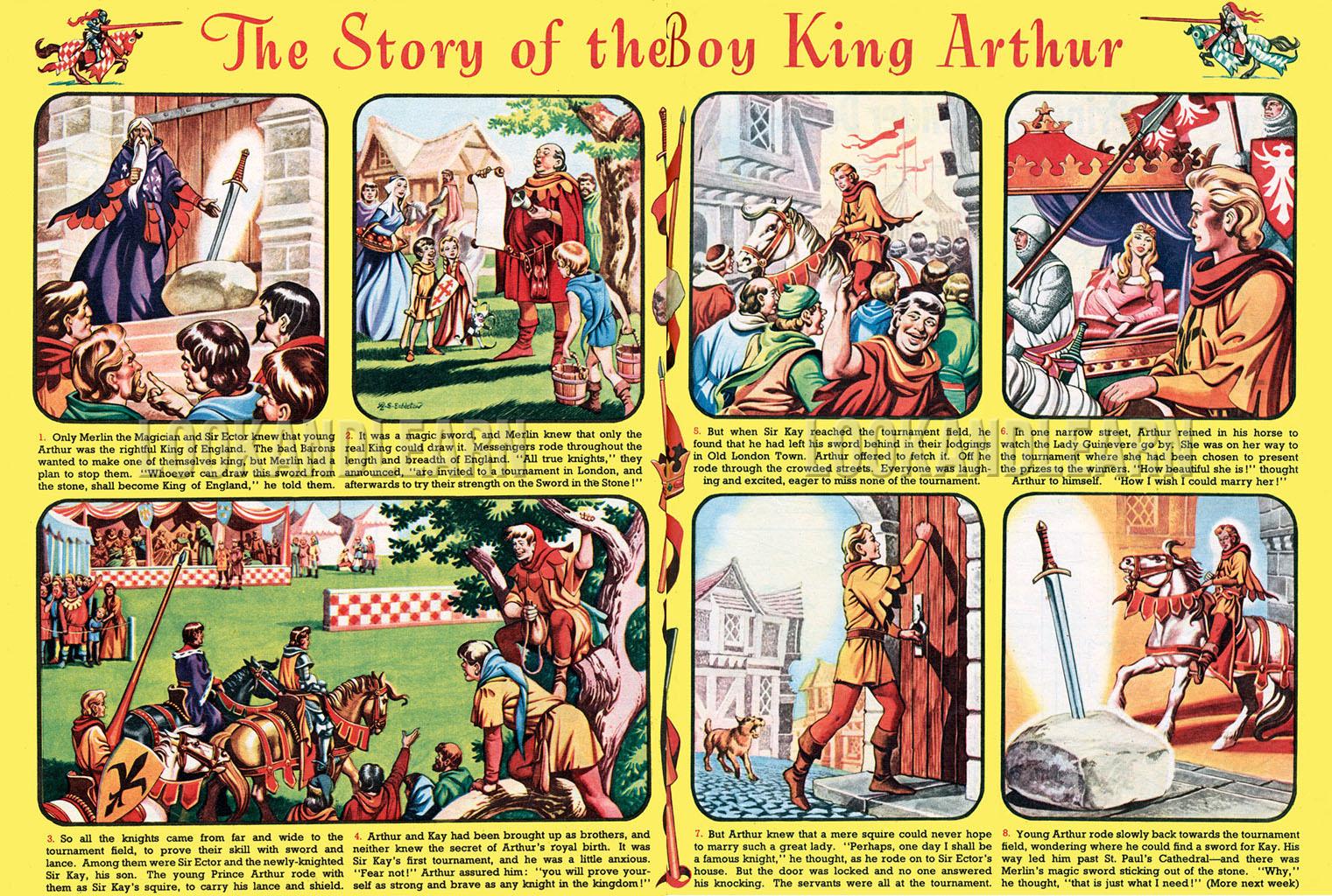 cloud 109 embleton at the court of king arthur