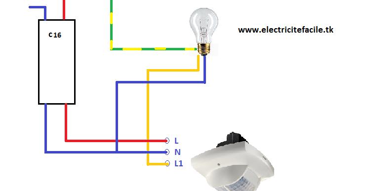 Sch mas lectriques sch ma de cablage electrique for Eclairage exterieur electrique