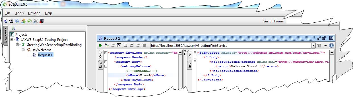 Jaxws Web Services SoapUI Tutorial