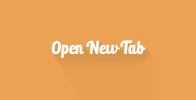 Cara Termudah Membuka Link Otomatis Terbuka di Tab Baru