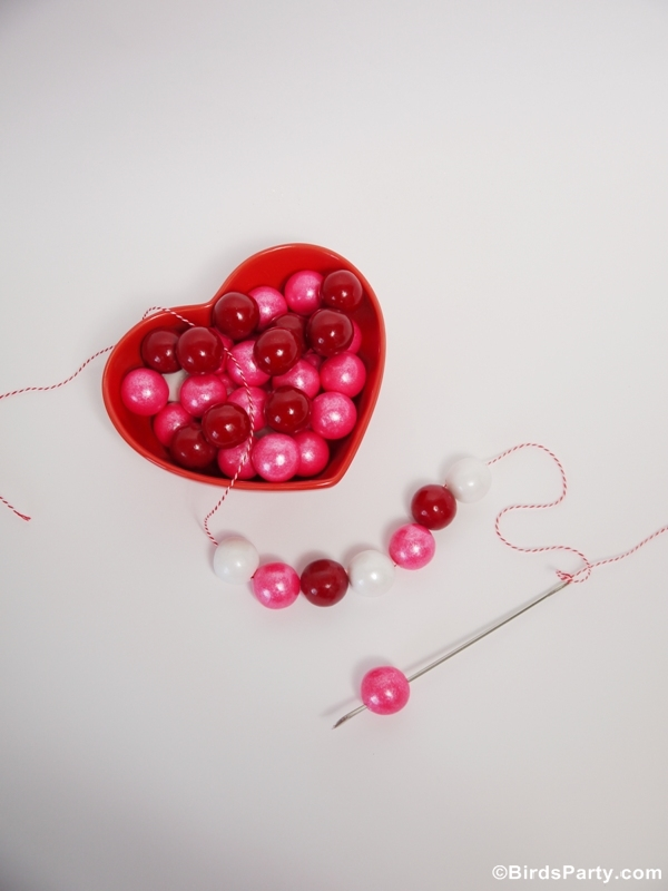 diy valentine's day gumball necklaces | party ideas | party printables, Ideas
