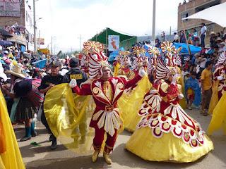 Los carnavales de Cajamarca, Perú