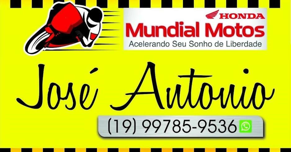 MOTOS HONDA - Araras - SP// José Antonio- 19-99785-9536
