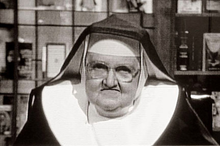 My First Grade teacher was an angry nun, she beat my hands with a ruler.