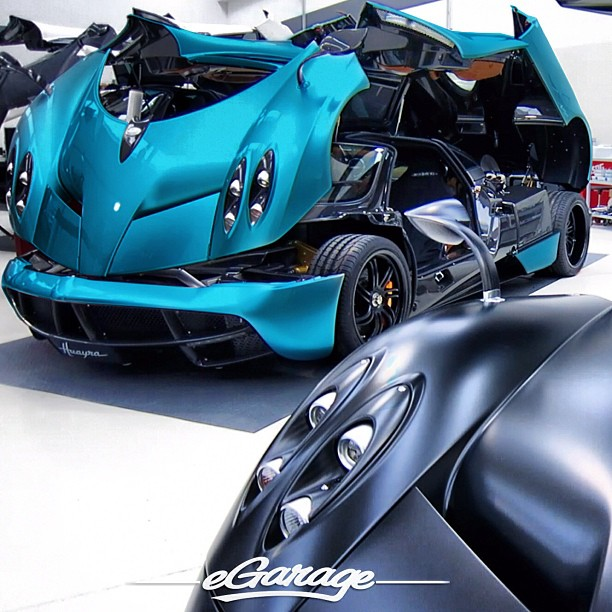 Pagani Zonda Lh: Prototype 0: First Light Blue Huayra