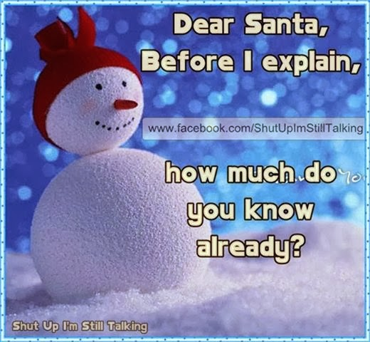 Funny Quotes Dear Santa. QuotesGram