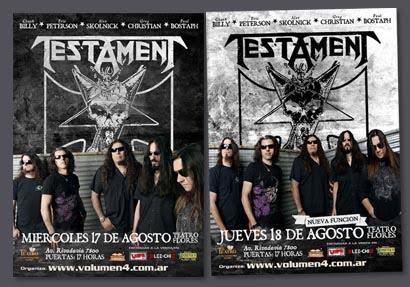 Testament / Doble fecha 2011 - Pack Completo