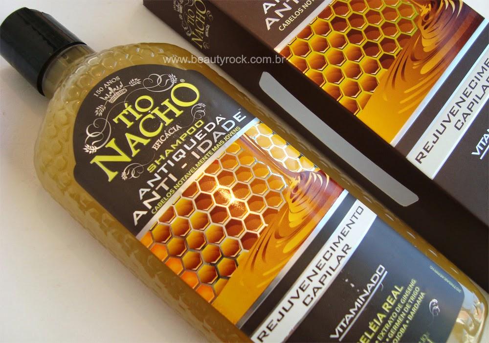 Resenha: Shampoo Tio Nacho Geléia Real, Antiqueda / Anti - idade