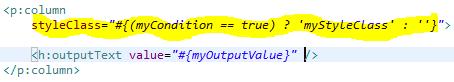 conditional colspan in p:column