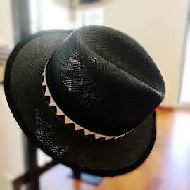 Borsalino men's Summer hat.