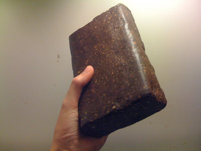 Raw Gold in Rock http://theearthdiet.blogspot.com/