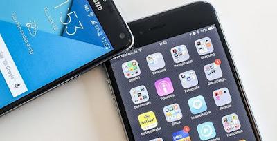 Galaxy S6 Edge+ vs. iPhone 6 Plus screen quality