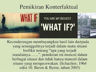 """Pemikiran Konterfaktual : Efek Dari Memikirkan """"Apa Yang Akan Terjadi Seandainya...."""""""