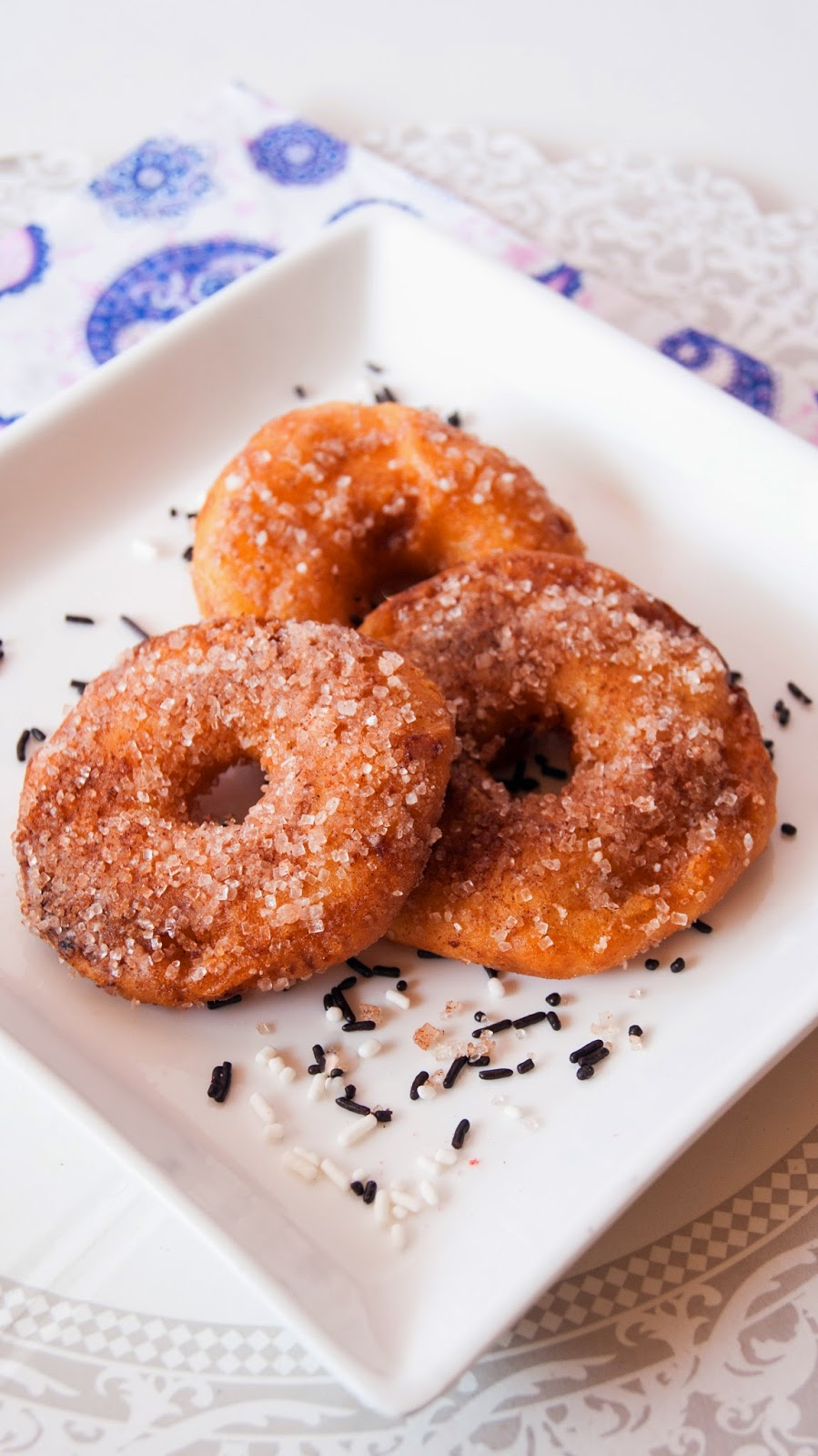 Always Hungry: Apple beignets with cinnamon sugar