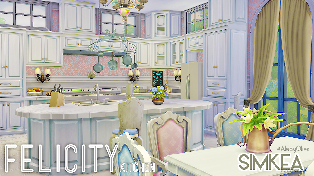 My sims 4 blog more rooms by simkea for Kitchen ideas sims 4