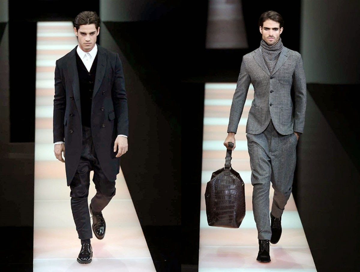 Eniwhere Fashion - Milano Moda Uomo - Giorgio Armani AW 2015