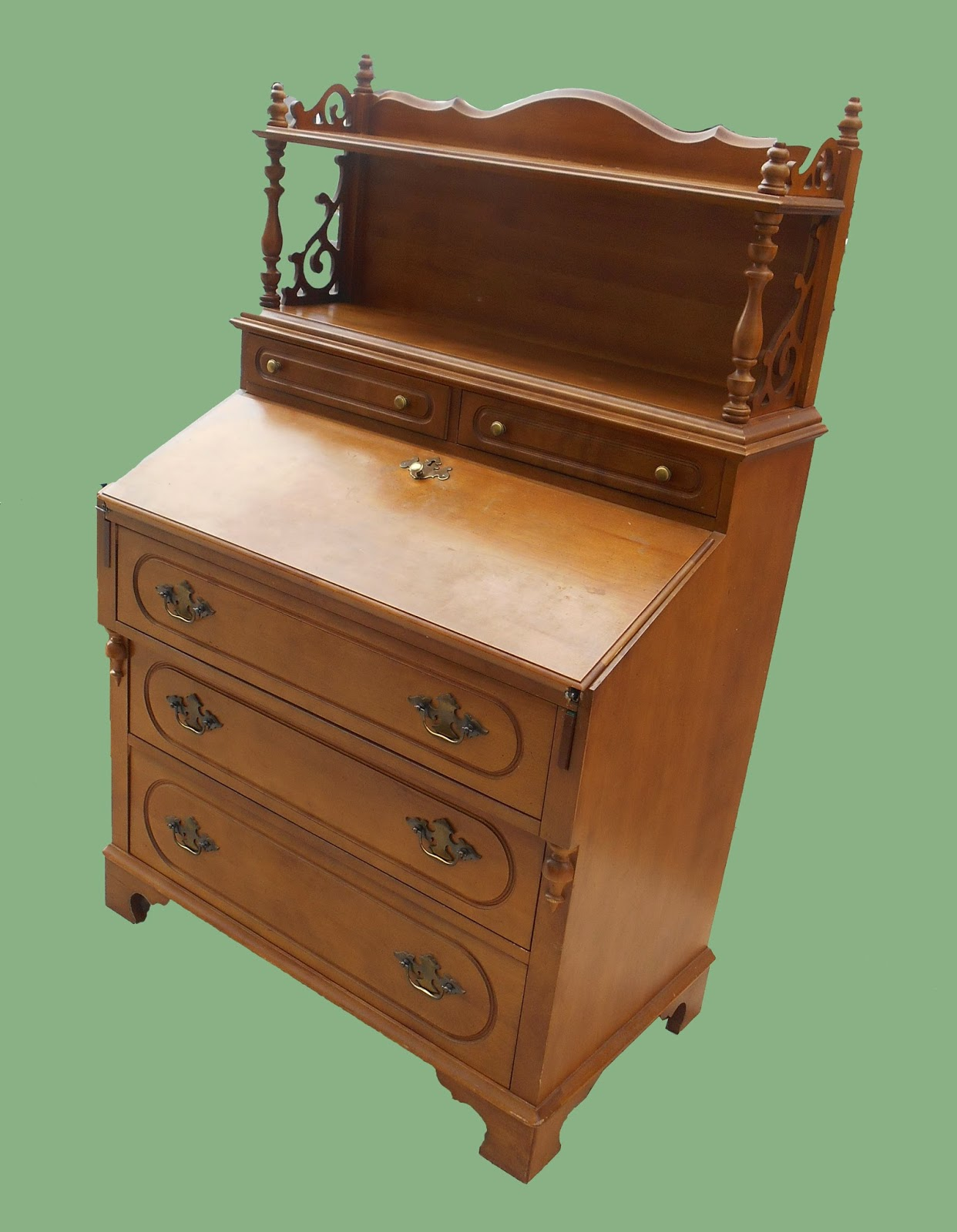 Uhuru furniture collectibles french provencal secretary for Reduced furniture